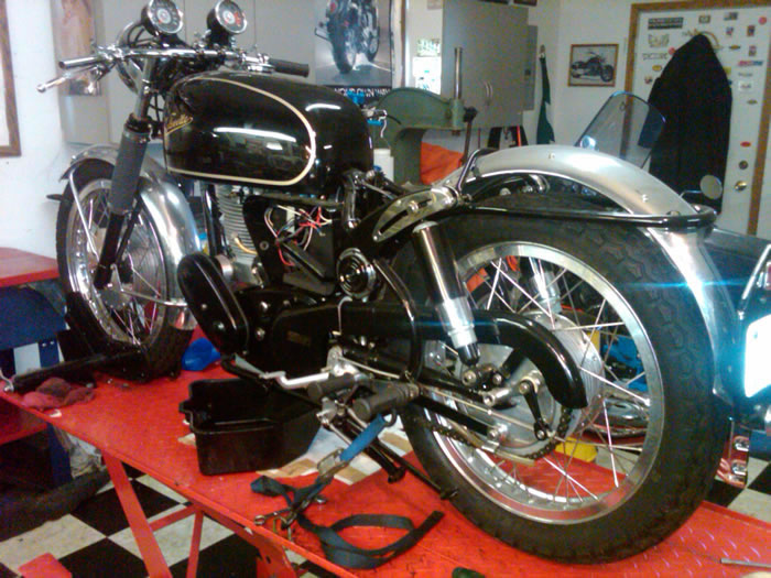 67 velocette clubman 6